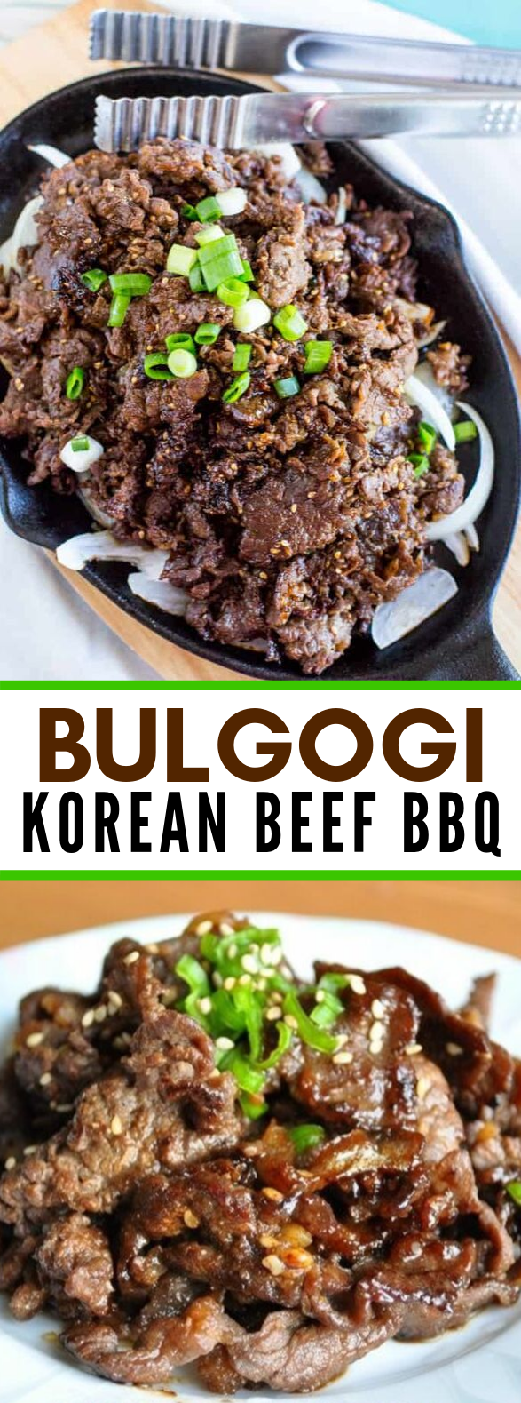 Bulgogi (Korean Beef BBQ 불고기) #koreanfood #dinner