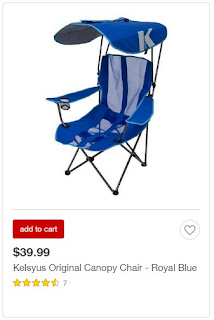 Target Beach Chairs with canopy