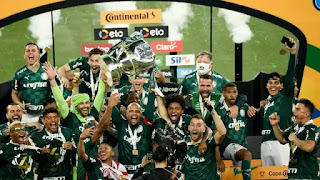 Palmeiras conquista  Copa do Brasi vencendo o Gêmio
