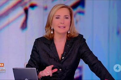 Barbara Palombelli foto stasera italia