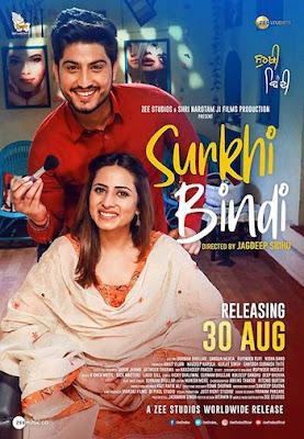 Surkhi Bindi 2019 Punjabi 720p WEB-DL 950mb