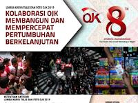 [GRATIS] Lomba Karya Tulis dan Foto Nasional OJK 2019, Hadiah 142 Jt