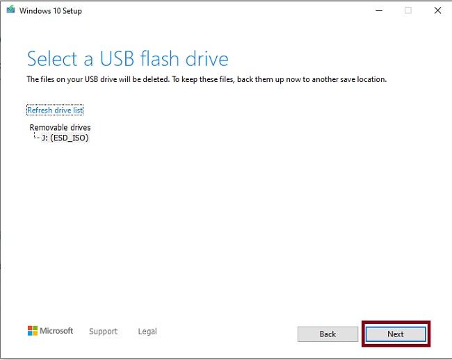 كيفية تثبيت ويندوز 10 باستخدام فلاشة USB بدون برامج 2021