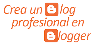 Blog profesional en Blogger