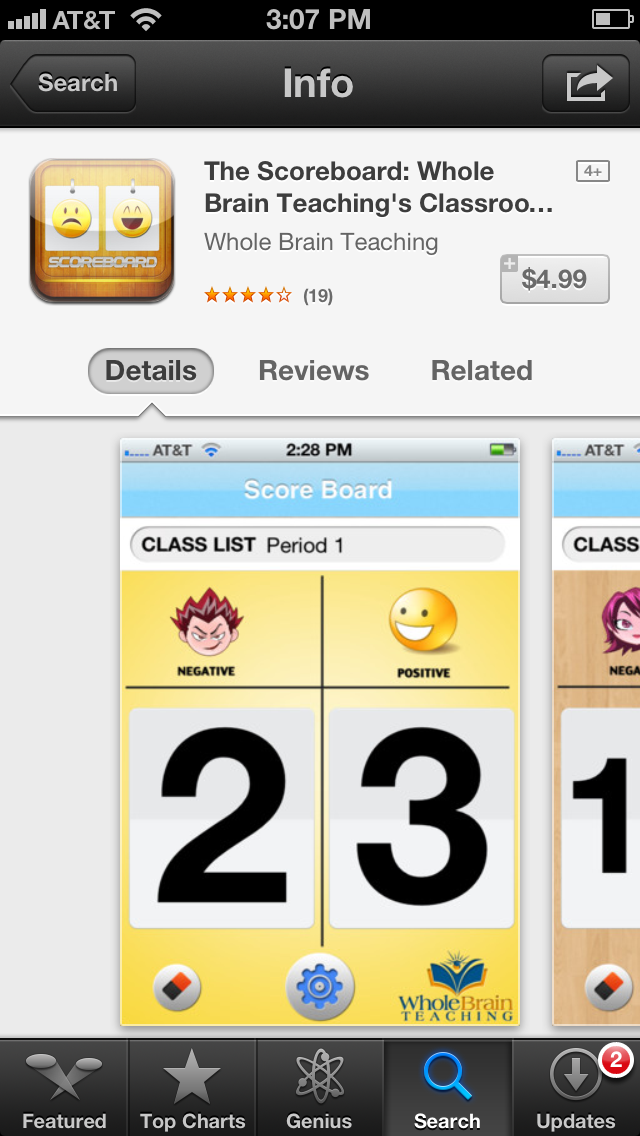 WBT: Mirror & Scoreboard {App} - *Teaching Maddeness*