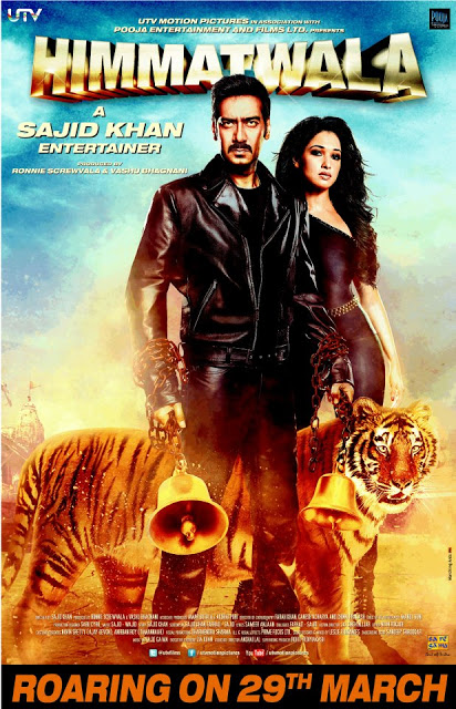 Exclsuive New Poster Of Himmatwala Hindi Movie