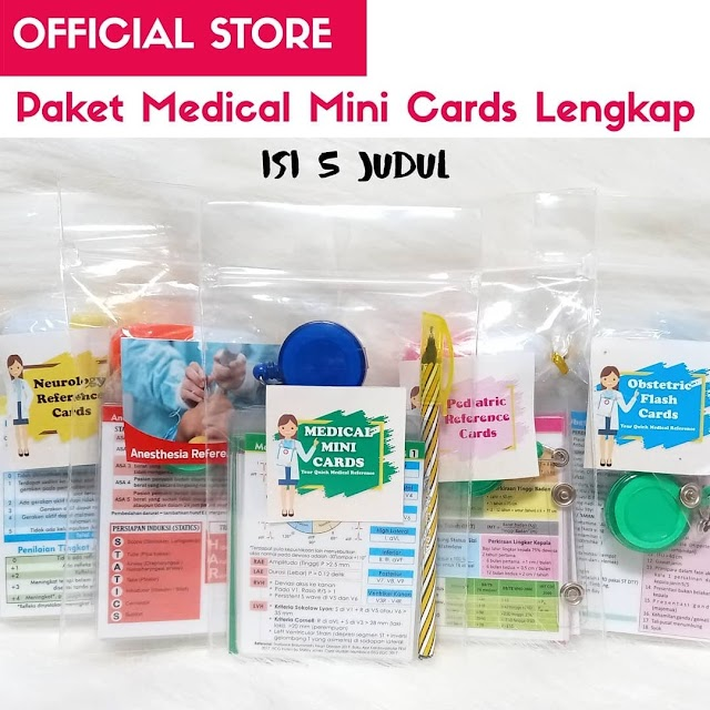 Medical Mini Cards (MMC Umum, Pediatric, Neurology, Obstetric, Anesthesia)