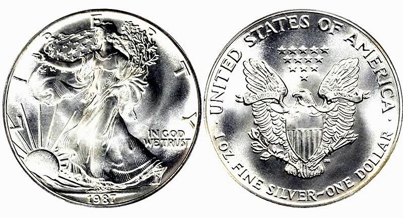 Las Monedas Y Su Historia D 243 Lar De Plata Estados Unidos