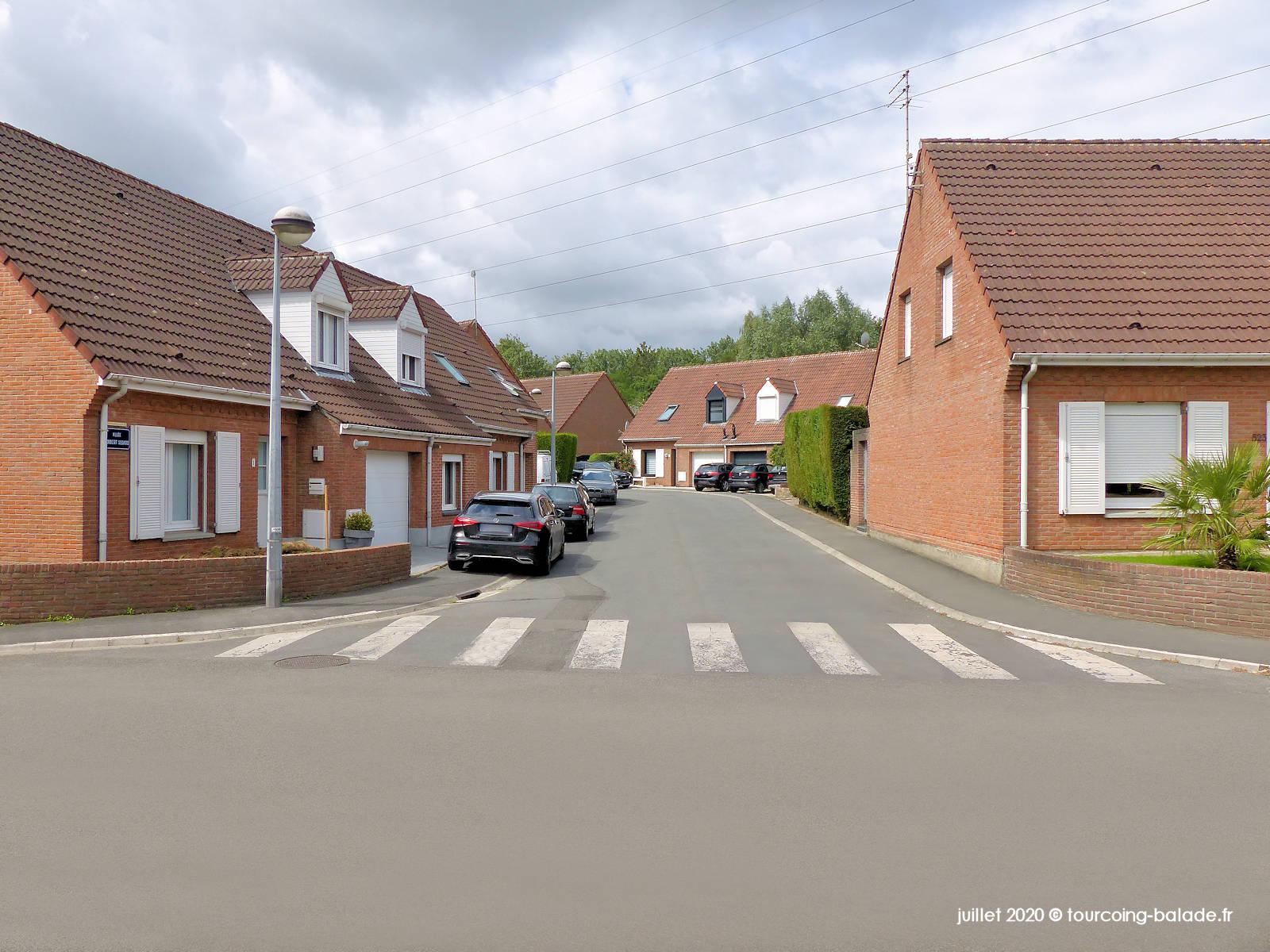 Rue du Clinquet et Allée Segard, Tourcoing 2020