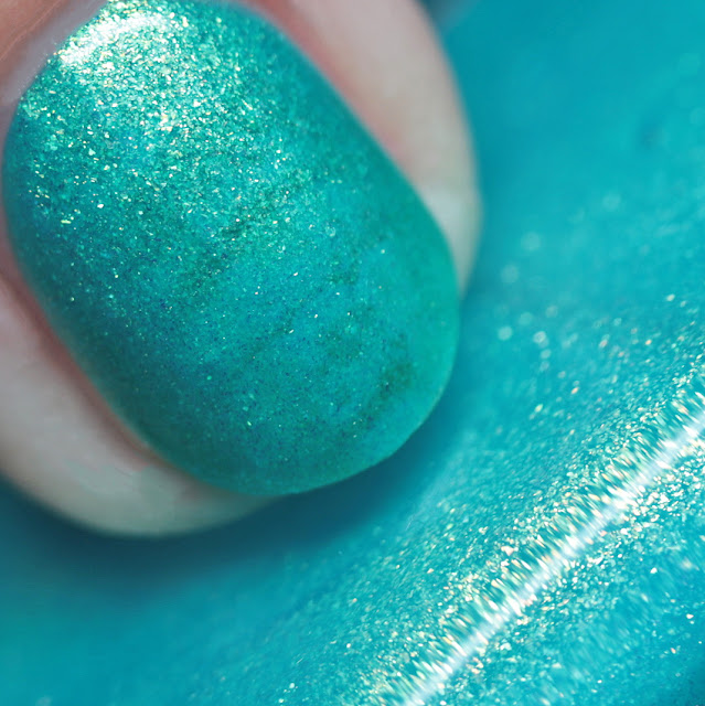 Nail Hoot Indie Lacquers Glow-Tini