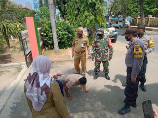 Warga Tidak Pakai Masker Terjaring Dalam Penegakan Operasi Yustisi