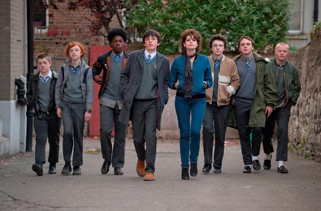 Conor et sa bande dans Sing Street de John Carney (2016)