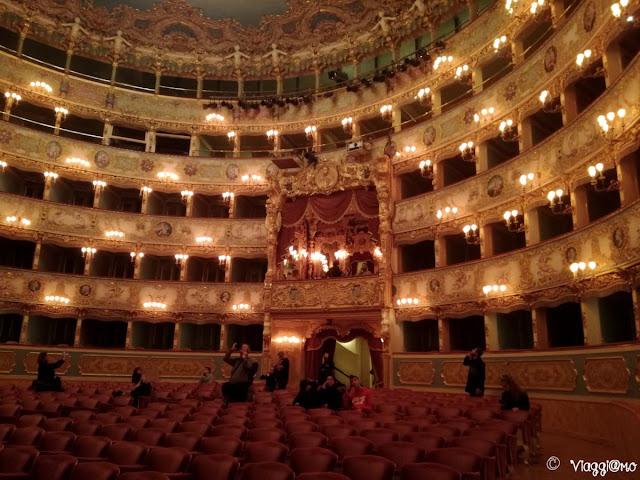 La Sala Teatrale della Fenice di Venezia
