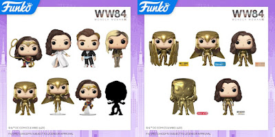 Wonder Woman 94 Movie Pop! DC Comics Vinyl Figures by Funko