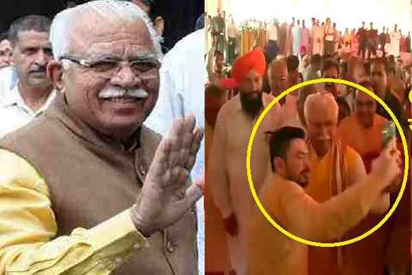 cm-manohar-lal-khattar-faridabad-9-june-welcome-bjp-workers-news