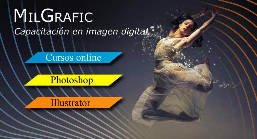 curso de photoshop e illustrator a distancia, online, Argentina, España, Venezuela, Chile, Uruguay, España, Paraguay