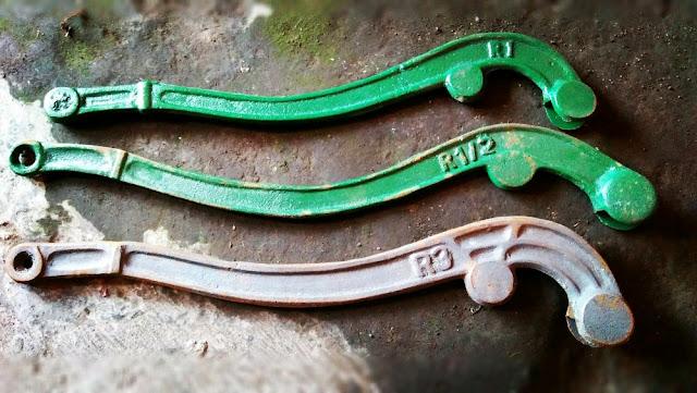 Besi Dragon yang digunakan untuk atraksi