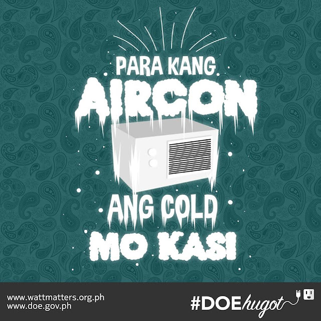 Philippine Department of Energy Hugot Lines Air Conditioner
