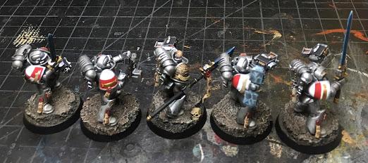 40K Grey Knights Strike Squad WIP