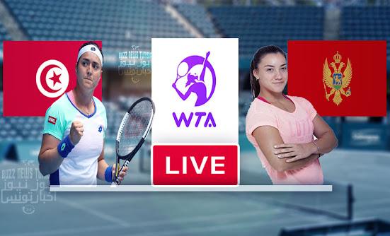 Watch Match Tennis Ons Jabeur vs Danka Kovinić  Live Stream WTA Tournament Charleston