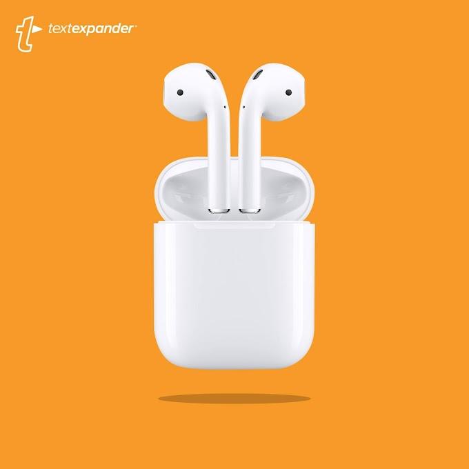 Sorteio do fone de ouvido AirPods da Apple