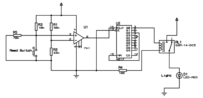automatic switcher circuit diagram
