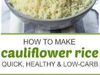 How To Make Cauliflower Rice Recipe (Quick, Healthy, Low-Carb, Paleo)