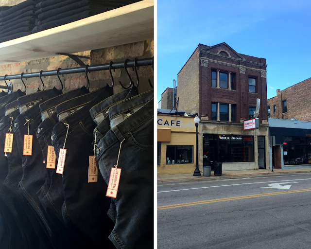 Shopping for Made in USA jeans at Dearborn Denim.