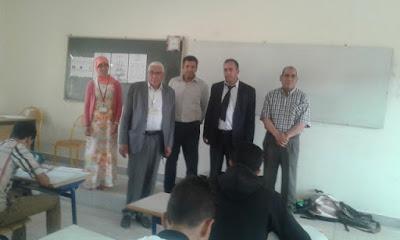 أجواء اليوم الأول من امتحانات الباكالوريا بالمديرية الاقليمية لفجيج ببوعرفة