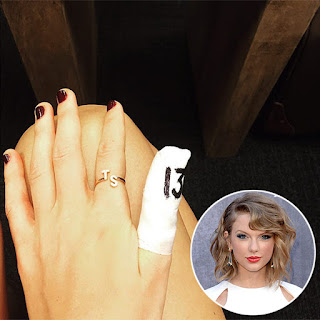 Taylor Swift Initial Ring