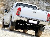 Harga dan Fisik : Stoplamp Kiri Toyota New Hilux 2012