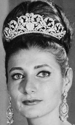 diamond tiara princess shahnaz pahlavi iran