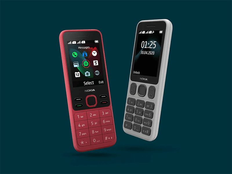 HMD Global announces Nokia 125 and Nokia 150 feature phones