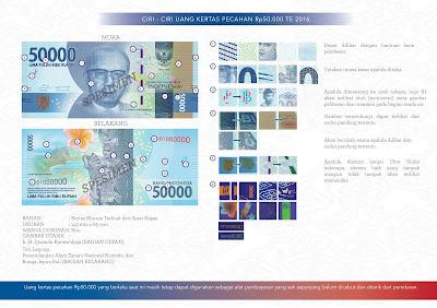 uang baru nkri Rp50.000