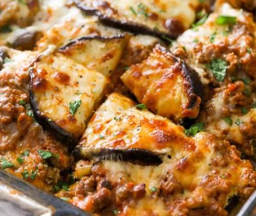 Eggplant Lasagna #lowcarb #healhty