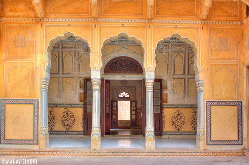 Ground Floor Apartment at Madhavendra Palace, Nahargarh Fort, Jaipur.
