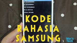 Kode Rahasia Samsung 2021 Cara1001