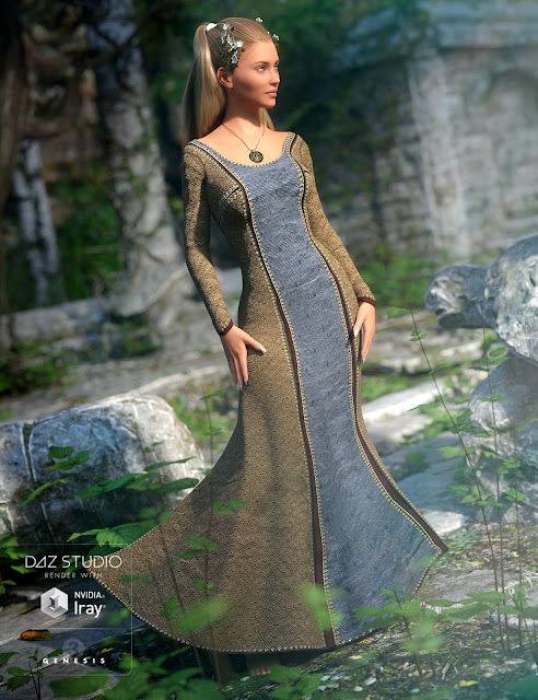 Sighni Outfit for Genesis 3 Female