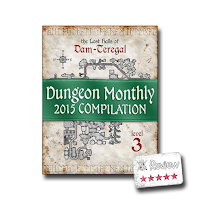 Frugal GM Review: Dungeon Monthly 2015 Compilation