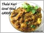 Thalai Kari Gravy
