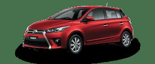 gia xe Yaris Toyota Hung Vuong