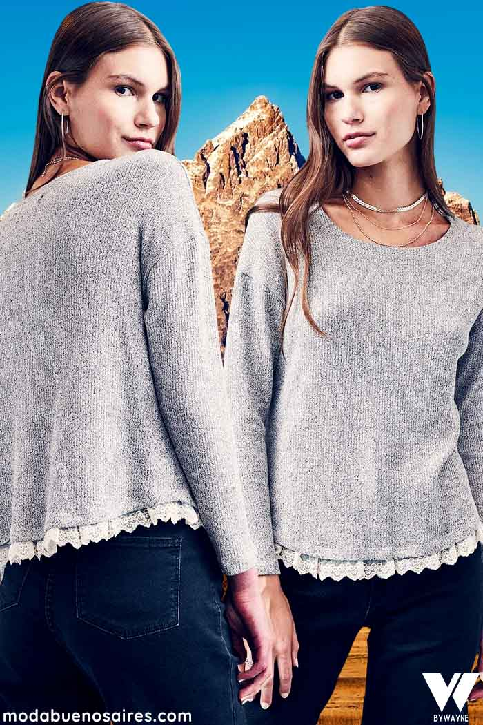 Sweater delicado para mujer invierno 2021