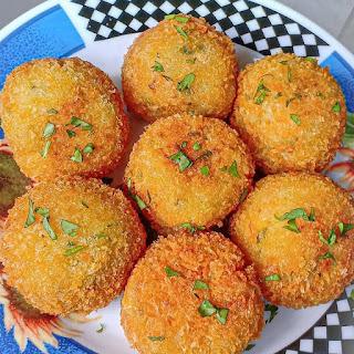Resep bola kentang keju