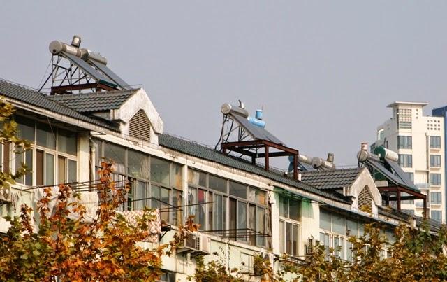 Solaire thermique : 70% de la capacité mondiale est installée en Chine