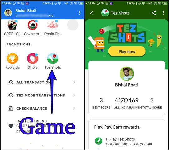 google-tez-shots-game
