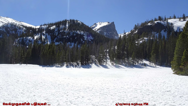 Nymph Lake and Hallett Peak
