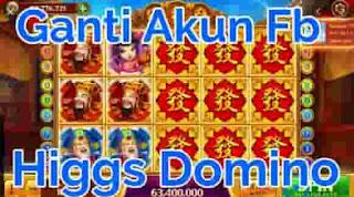Cara Gonta-Ganti Akun Facebook di Higgs Domino