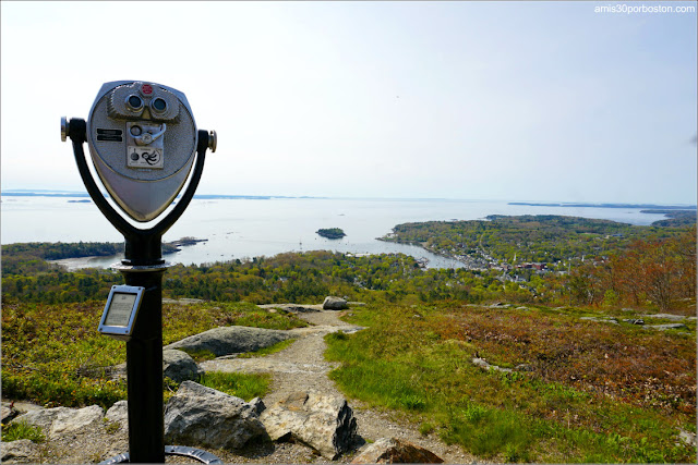 Mount Battie en Camden, Maine