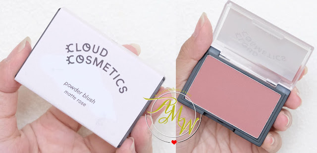 a photo of Cloud Cosmetics Powder Blush Review