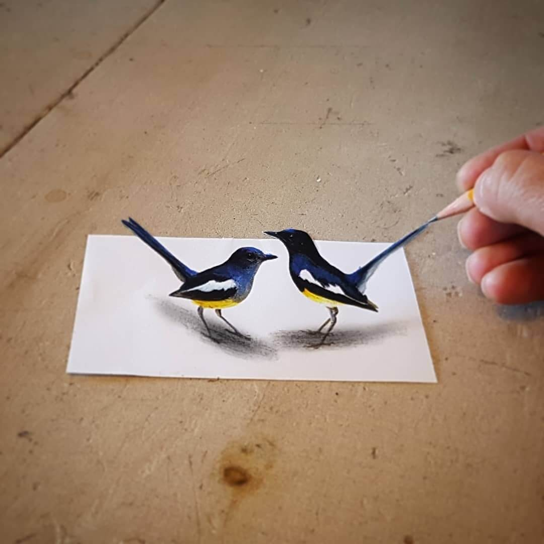 11-Birds-Ramon-Bruin-Various-styles-of-3D-drawings-www-designstack-co